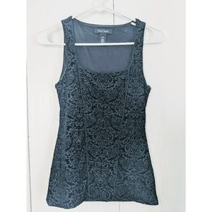 White House Black Market velvety tank top
